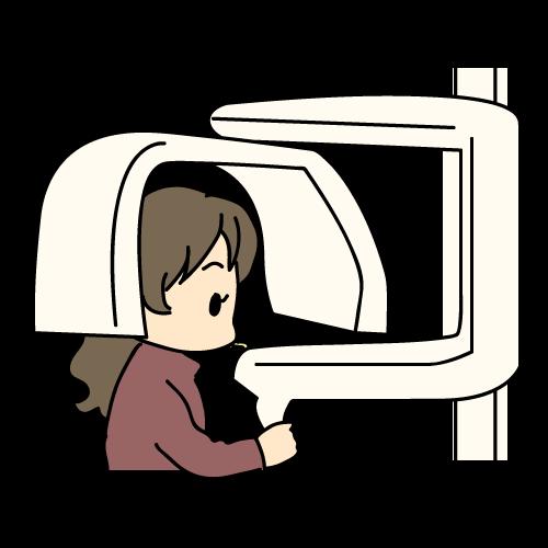診査・診断(レントゲン撮影)